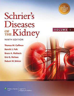 Portada del libro 9781451110753 Schrier's Diseases of the Kidney, 2 Vols. (Online and Print)