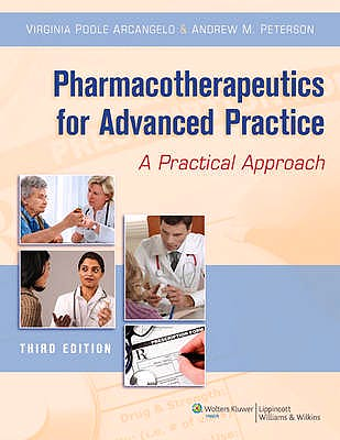 Portada del libro 9781451111972 Pharmacotherapeutics for Advanced Practice