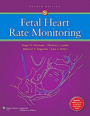 Portada del libro 9781451116632 Fetal Heart Rate Monitoring (Online and Print)