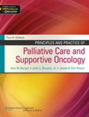 Portada del libro 9781451121278 Principles and Practice of Palliative Care and Supportive Oncology