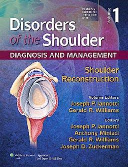 Portada del libro 9781451127454 Disorders of the Shoulder. Diagnosis and Management, Vol. 1: Shoulder Reconstruction