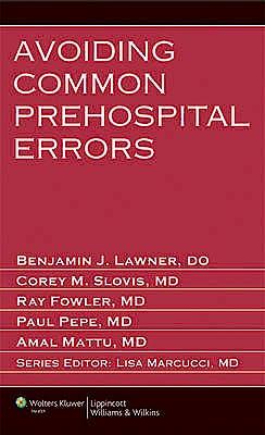 Portada del libro 9781451131598 Avoiding Common Prehospital Errors