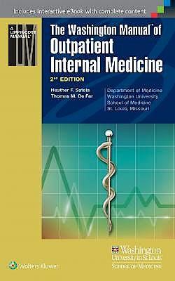 Portada del libro 9781451143270 The Washington Manual of Outpatient Internal Medicine