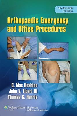 Portada del libro 9781451143706 Orthopaedic Emergency and Office Procedures (Online and Print)