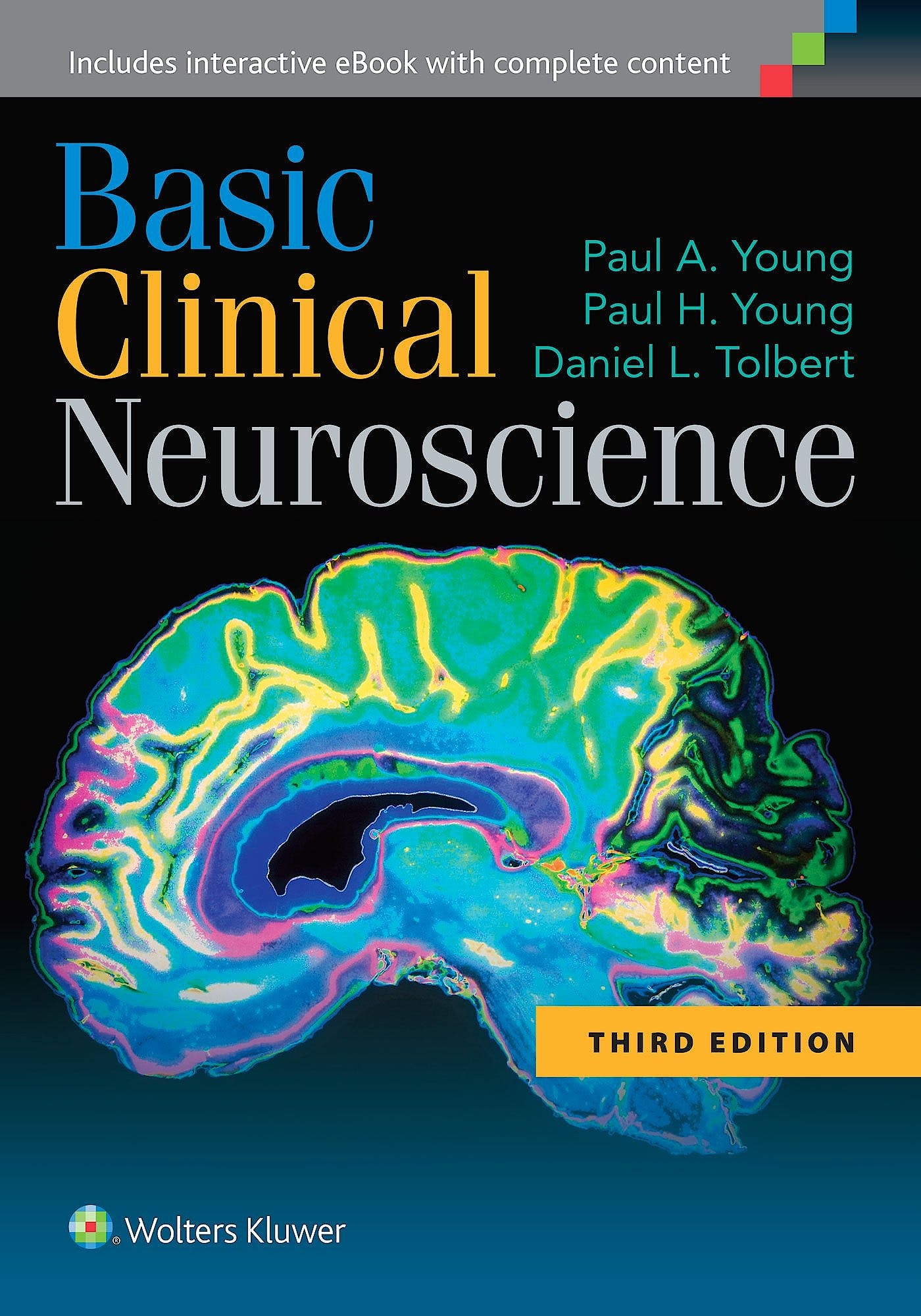 Portada del libro 9781451173291 Basic Clinical Neuroscience (Online and Print)