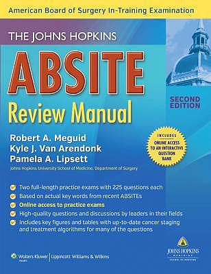 Portada del libro 9781451173321 The Johns Hopkins Absite Review Manual
