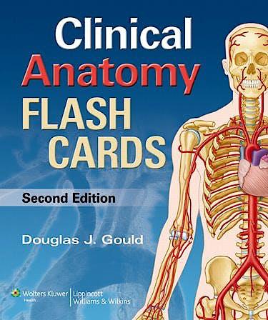 Portada del libro 9781451173352 Moore's Clinical Anatomy Flash Cards