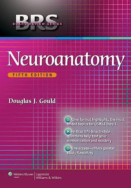 Portada del libro 9781451176094 BRS Neuroanatomy (Board Review Series)