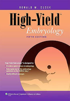 Portada del libro 9781451176100 High-Yield Embryology