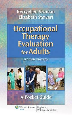 Portada del libro 9781451176193 Occupational Therapy Evaluation for Adults. a Pocket Guide