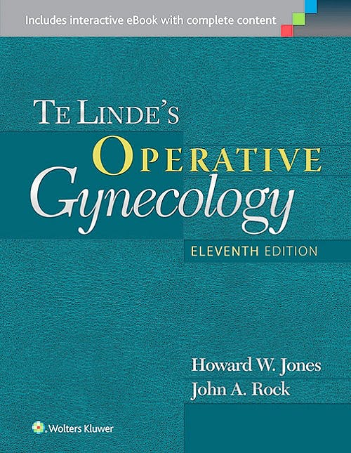 Portada del libro 9781451177367 Te Linde's Operative Gynecology
