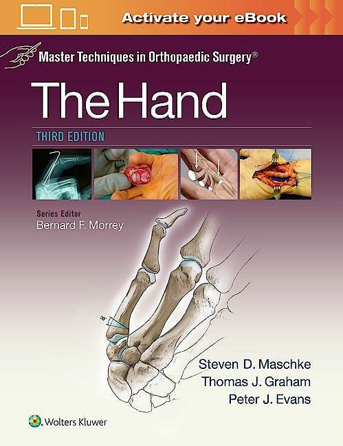 Portada del libro 9781451182781 Master Techniques in Orthopaedic Surgery. The Hand