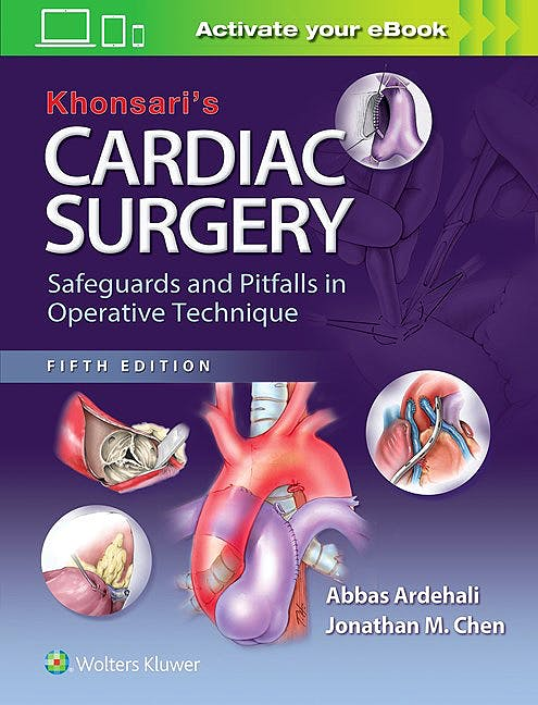 Portada del libro 9781451183689 Khonsari's Cardiac Surgery. Safeguards and Pitfalls in Operative Technique