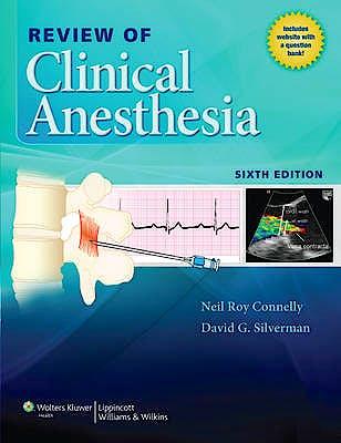 Portada del libro 9781451183726 Review of Clinical Anesthesia