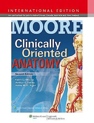 Portada del libro 9781451184471 Clinically Oriented Anatomy (International Edition)