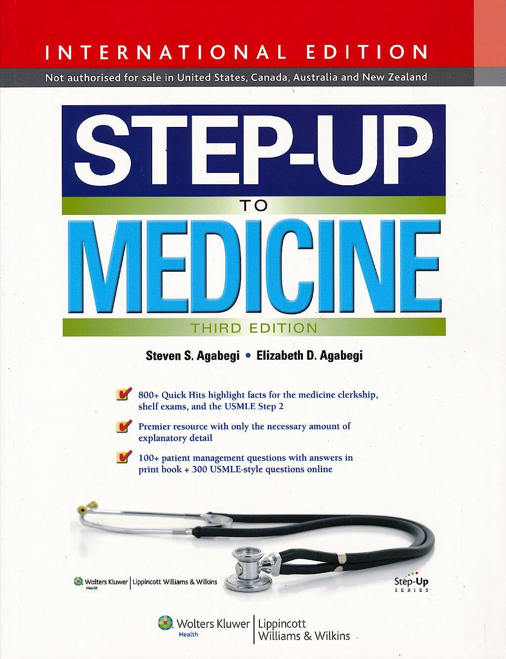 Portada del libro 9781451186178 Step-up to Medicine (International Edition) + Online Access
