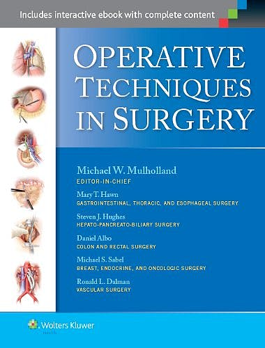 Portada del libro 9781451186314 Operative Techniques in Surgery, 2 Vols.