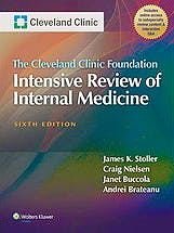 Portada del libro 9781451186567 The Cleveland Clinic Intensive Board Review of Internal Medicine