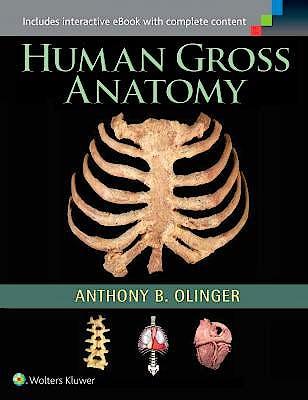 Portada del libro 9781451187403 Human Gross Anatomy