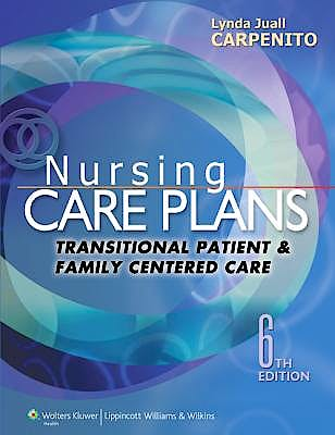 Portada del libro 9781451187878 Nursing Care Plans. Transitional Patient and Family Centered Care + Online Access