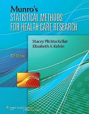 Portada del libro 9781451187946 Munro's Statistical Methods for Health Care Research