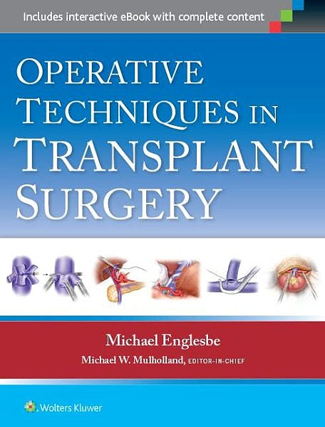 Portada del libro 9781451188745 Operative Techniques in Transplant Surgery
