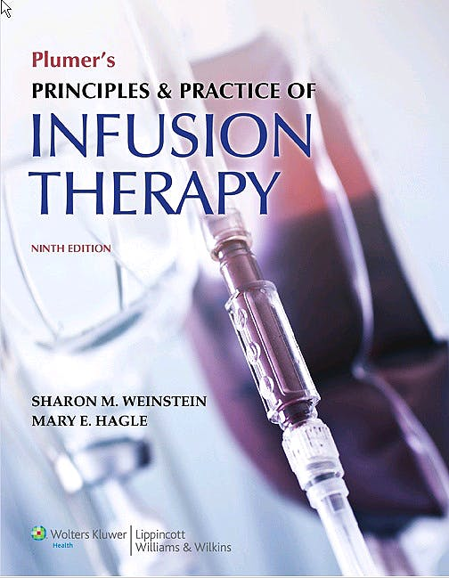 Portada del libro 9781451188851 Plumer's Principles and Practice of Infusion Therapy