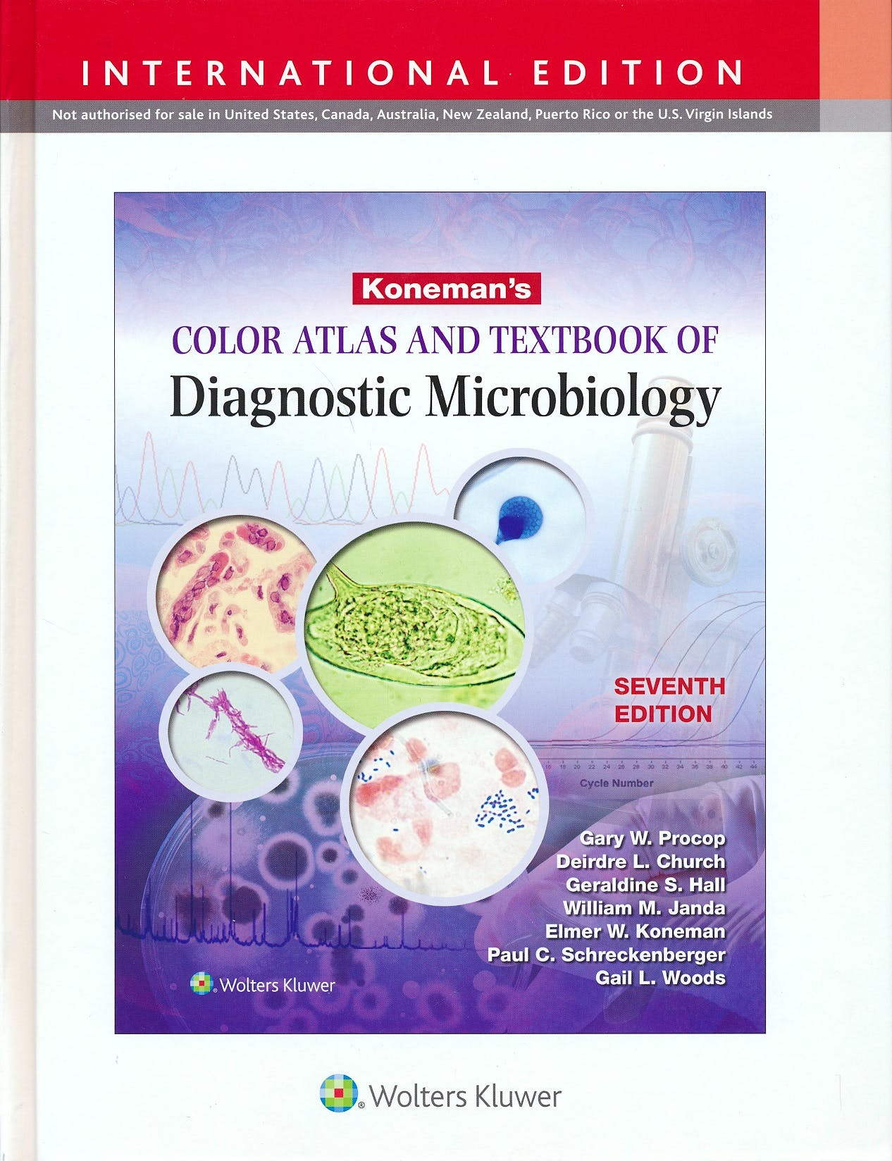 Portada del libro 9781451189353 Koneman's Color Atlas and Textbook of Diagnostic Microbiology (International Edition)