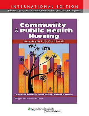 Portada del libro 9781451189759 Community & Public Health Nursing: Promoting the Public's Health (International Edition)