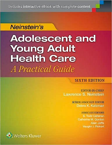 Portada del libro 9781451190083 Neinstein's Adolescent and Young Adult Health Care. A Practical Guide