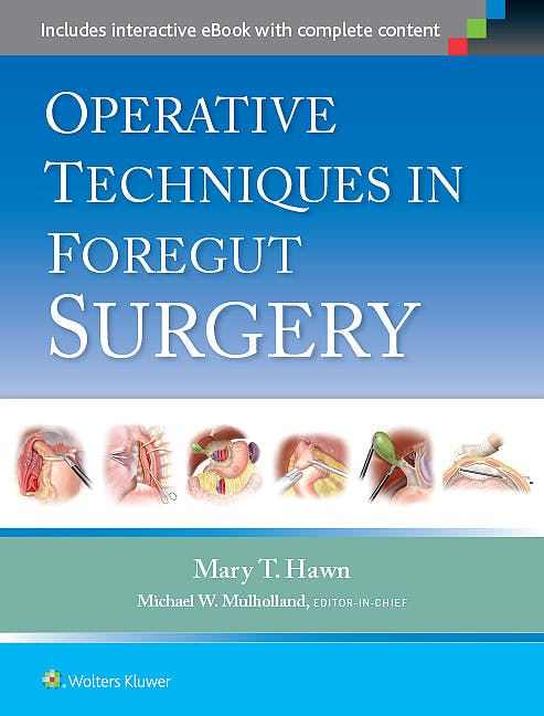 Portada del libro 9781451190175 Operative Techniques in Foregut Surgery
