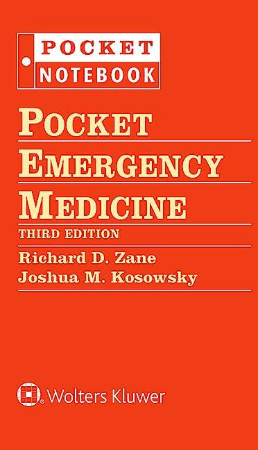 Portada del libro 9781451190656 Pocket Emergency Medicine