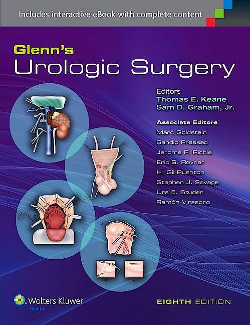 Portada del libro 9781451191462 Glenn's Urologic Surgery