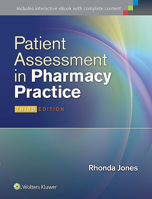Portada del libro 9781451191653 Patient Assessment in Pharmacy Practice