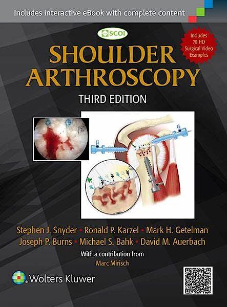 Portada del libro 9781451191707 Shoulder Arthroscopy
