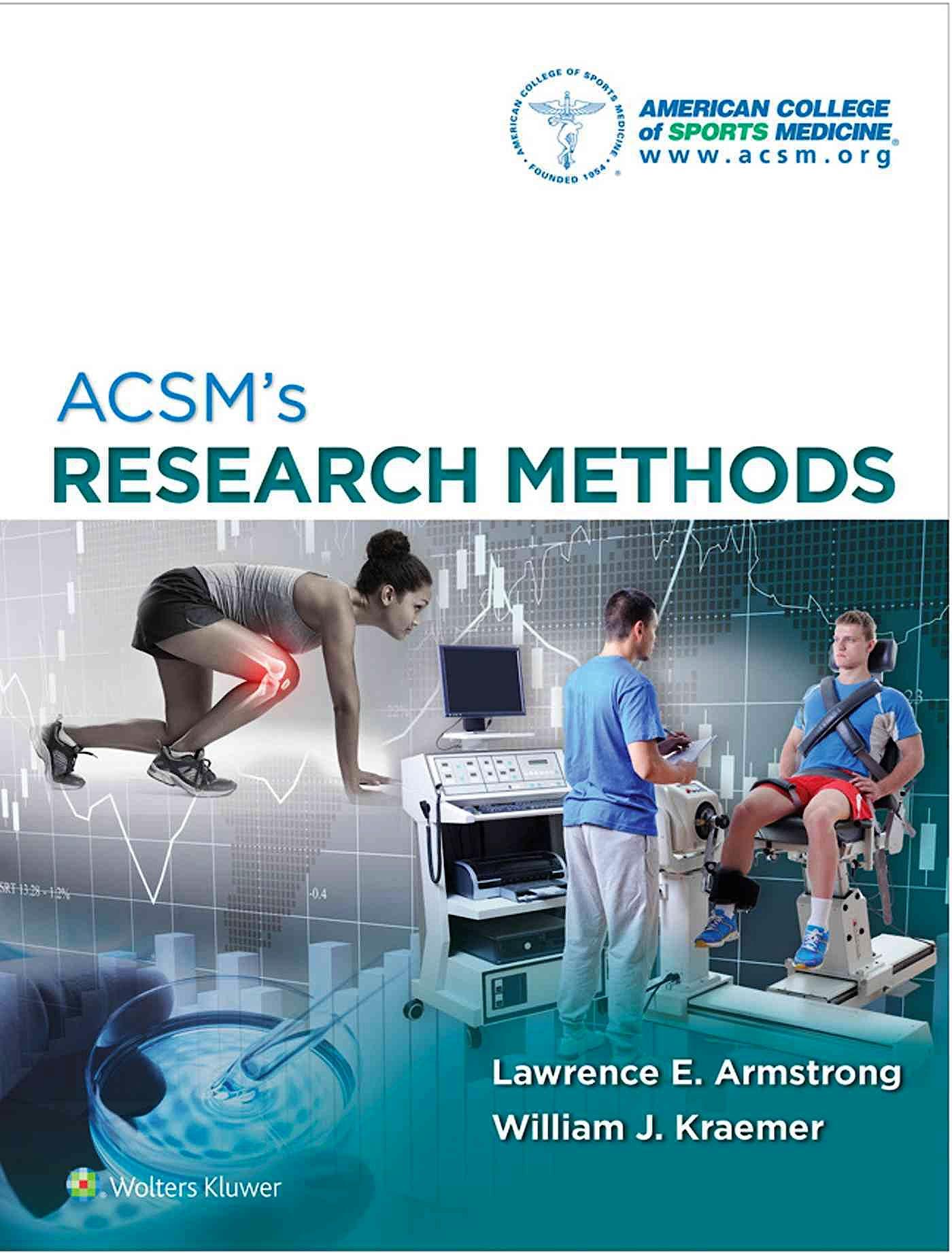 Portada del libro 9781451191745 ACSM's Research Methods