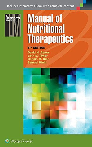 Portada del libro 9781451191875 Manual of Nutritional Therapeutics