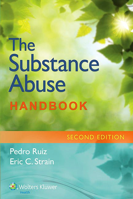 Portada del libro 9781451191967 The Substance Abuse Handbook
