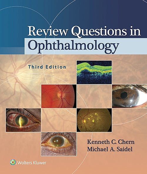 Portada del libro 9781451192018 Review Questions in Ophthalmology