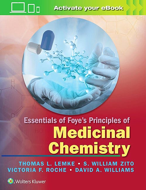 Portada del libro 9781451192063 Essentials of Foye's Principles of Medicinal Chemistry