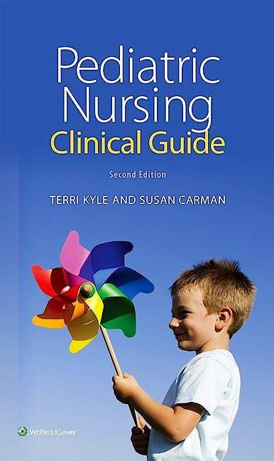Portada del libro 9781451192414 Pediatric Nursing Clinical Guide