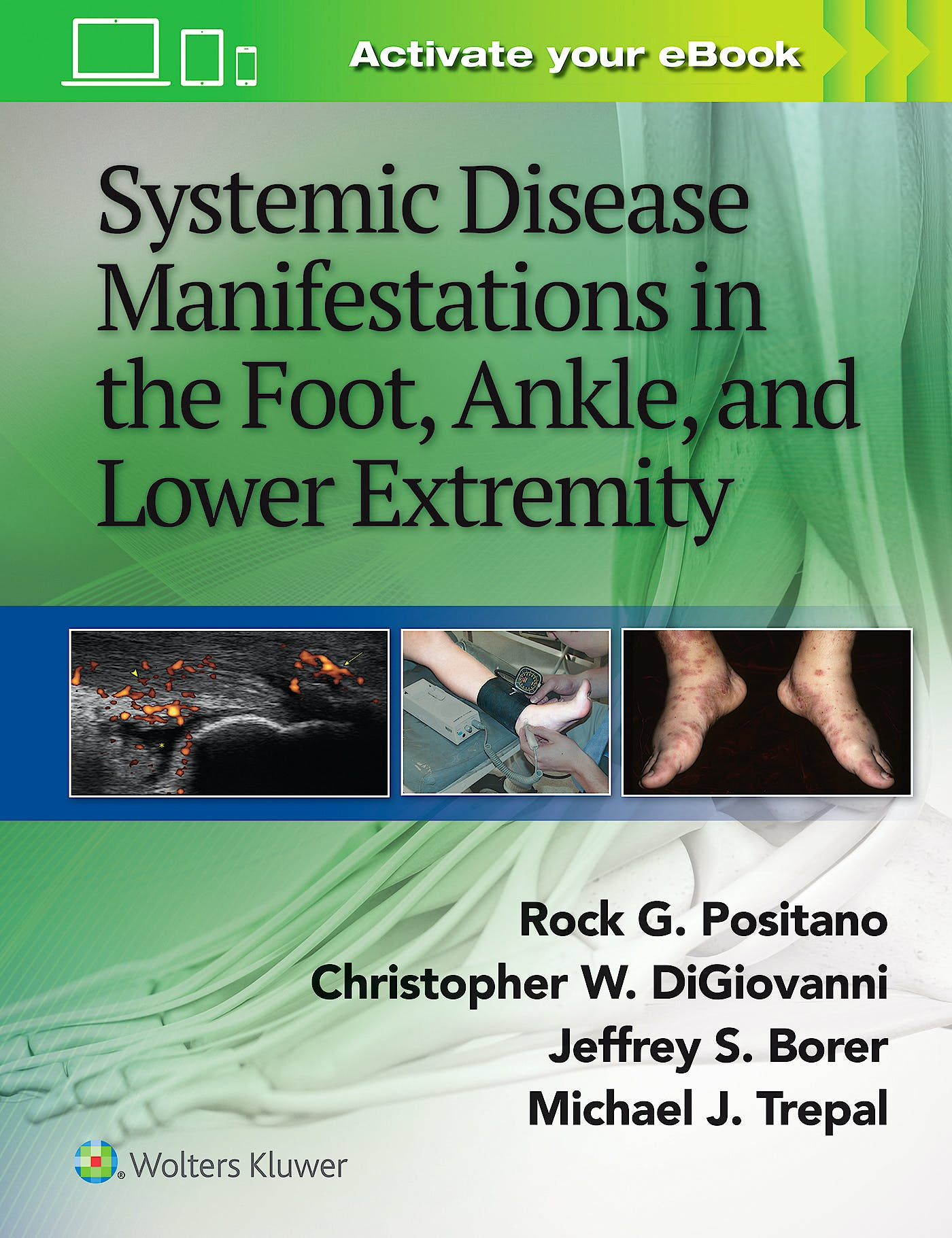 Portada del libro 9781451192643 Systemic Disease Manifestations in the Foot, Ankle and Lower Extremity