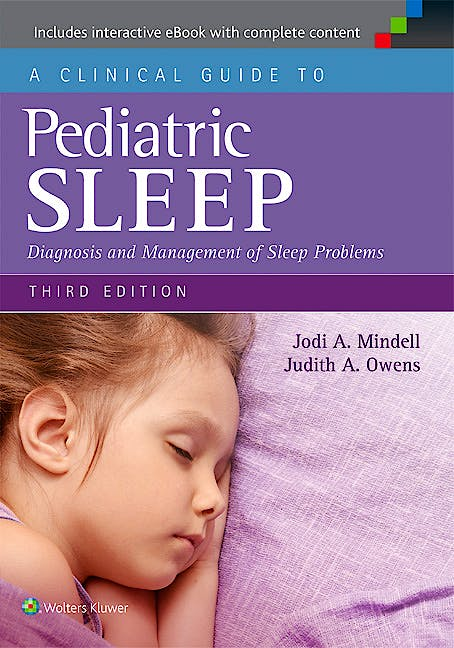 Portada del libro 9781451193008 A Clinical Guide to Pediatric Sleep. Diagnosis and Management of Sleep Problems