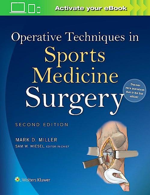 Portada del libro 9781451193015 Operative Techniques in Sports Medicine Surgery