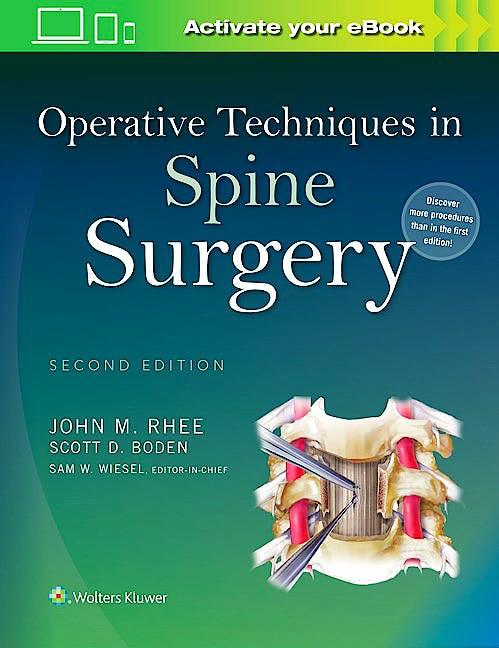 Portada del libro 9781451193152 Operative Techniques in Spine Surgery