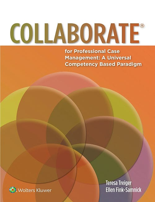 Portada del libro 9781451193428 Collaborate for Professional Case Management: A Universal Competency Based Paradigm