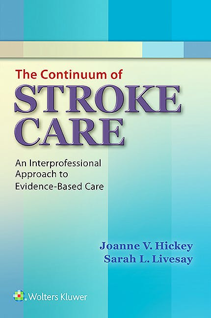 Portada del libro 9781451193466 The Continuum of Stroke Care. an Interprofessional Approach to Evidence-Based Care