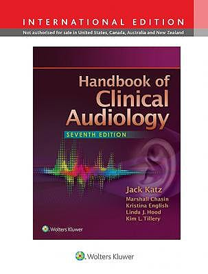 Portada del libro 9781451194050 Handbook of Clinical Audiology (International Edition)