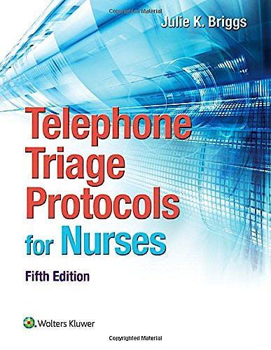 Portada del libro 9781451194296 Telephone Triage Protocols for Nursing