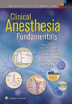 Portada del libro 9781451194371 Clinical Anesthesia. Fundamentals